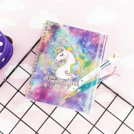 Unicorn Çanta Kapaklı Defter You Are Magical