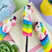 Unicorn Twist Squishy Jel Kalem
