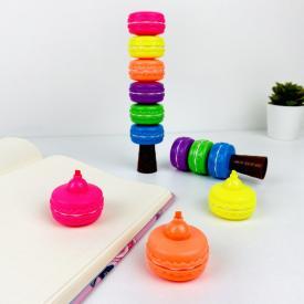 Canlı Renkler Makaron Fosforlu Kalem